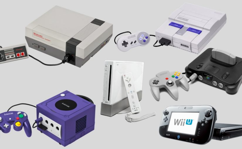 Image result for Nintendo Home Consoles
